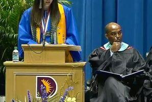 VIDEO ¡Indignante! Habla de racismo en su discurso de graduación y le cortan el sonido
