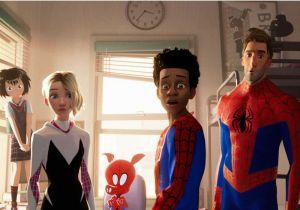 """Llega a Netflix """"Spider-Man: into the Spider-Verse"""""""