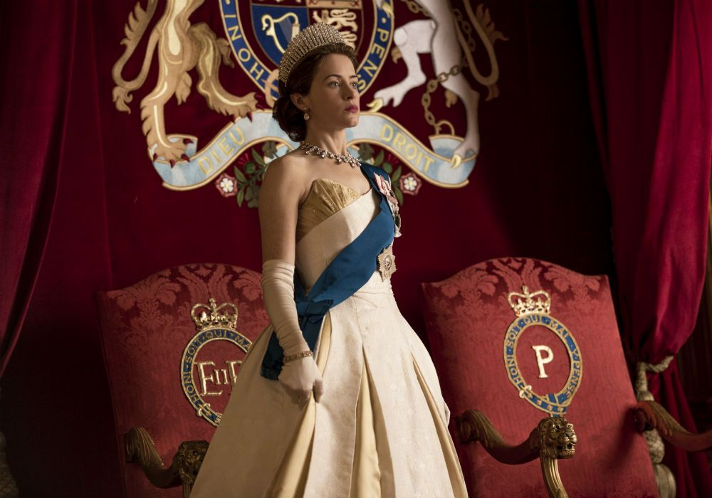 """Claire Foy en """"The crown"""""""