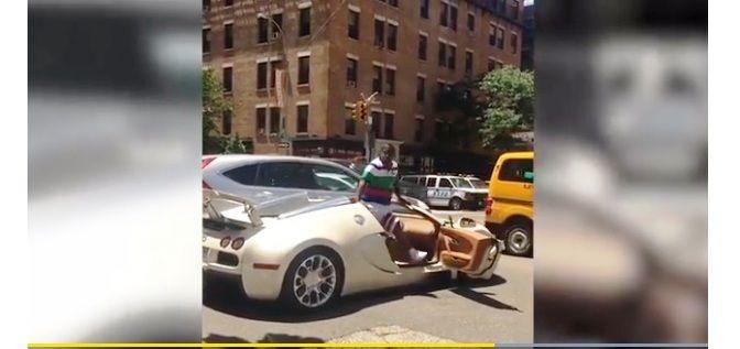 Horas después de pagar $2 millones por su auto italiano, el actor lo choca