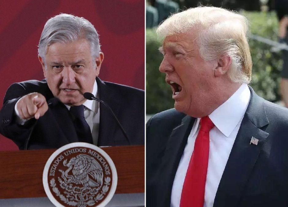 Trump cuestiona: ¿Los cárteles y 'coyotes' gobiernan México?