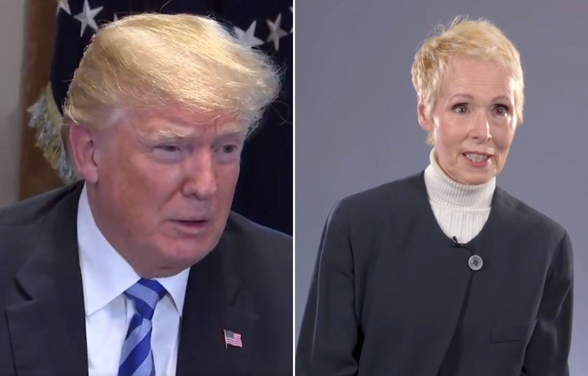 """Trump se defiende de última acusación de agresión sexual: """"Ni siquiera es mi tipo"""""""