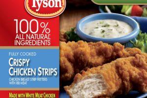 ¿El pollo empanado Tyson que te estás comiendo podría tener plástico?