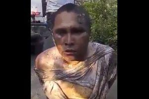 VIDEO: Los Zetas interrogan despiadadamente a supuesto integrante del Cártel del Golfo