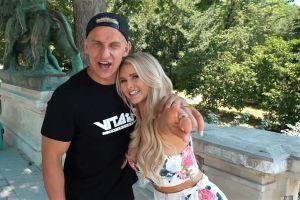 Kinsey Wolanski y su novio revelan cómo prepararon su show en la final de Champions
