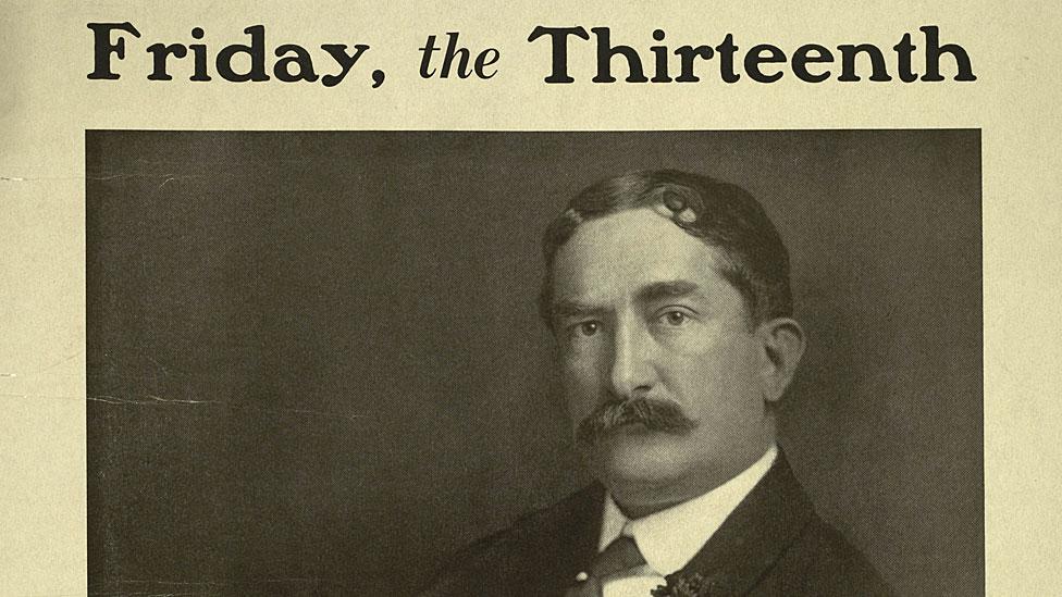 Thomas W. Lawson, el multimillonario que murió en la pobreza y popularizó el temor al viernes 13