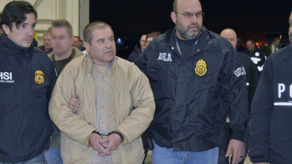 """Los temidos vecinos de """"El Chapo"""" en la """"Alcatraz del siglo XXI"""" donde pasará el resto de su vida"""