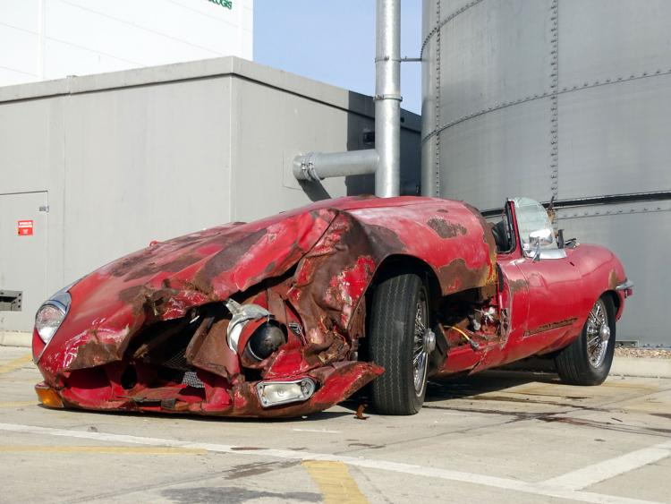 ¿Por qué este Jaguar XKE Roadster de 1969 está valorado en $21,000?
