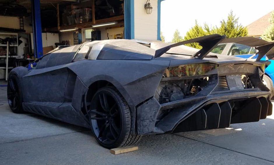 Padre e hijo imprimen su propio Lamborghini en Tercera Dimensión (3D)