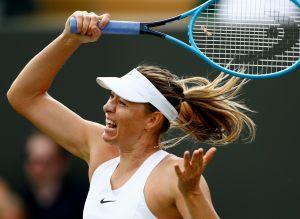 María Sharapova se vuelve a lesionar y abandona Wimbledon