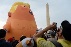 """El bebé"""" de Trump, comprado por el Museo de Londres"""