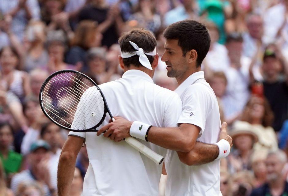 De leyenda: los récords de la final de Wimbledon entre Djokovic y Federer