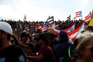 Marea de boricuas se levanta contra Ricardo Rosselló en Puerto Rico