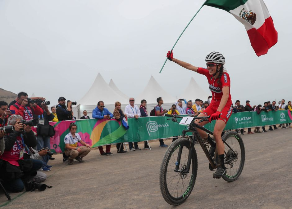Más Oro para México: La ciclista Daniela Campuzano conquista la montaña