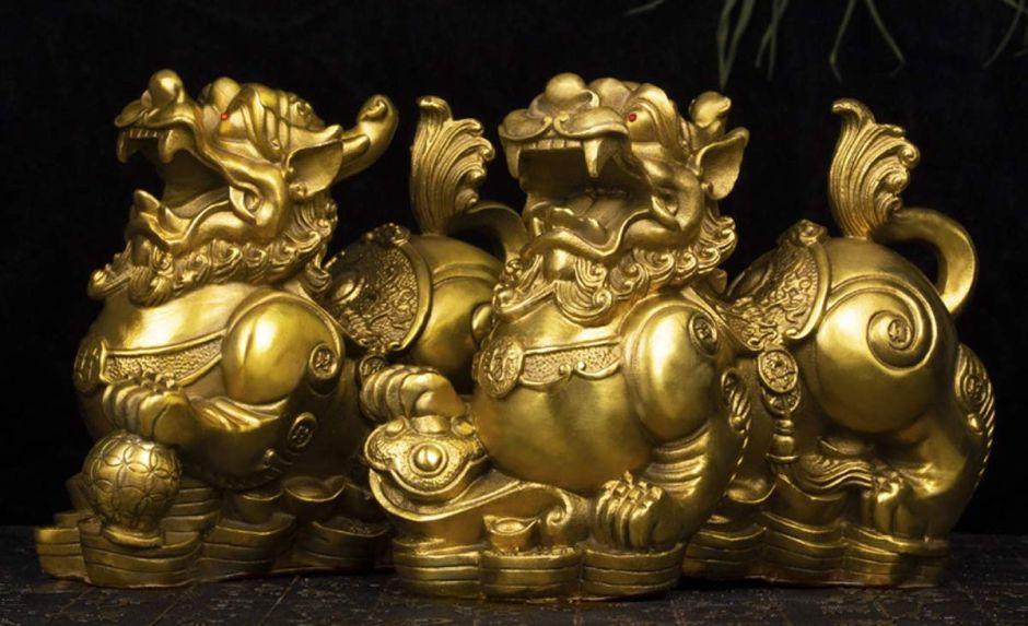 4 sets de Dragones Chinos que atraerán la protección y la suerte a tu casa