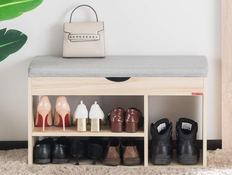 5 bancos de vestidor para ponerte y quitarte los zapatos con comodidad