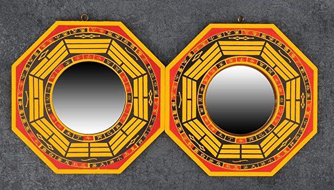3 espejos cóncavos de Feng Shui para alejar las malas energías de tu casa