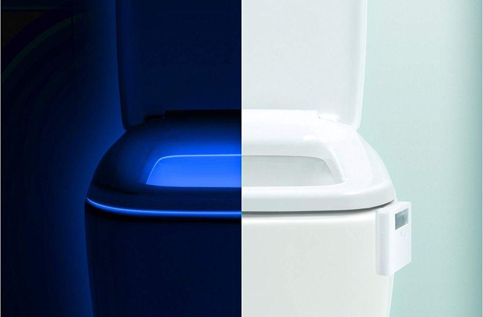 Las 3 mejores luces LED para iluminar tu inodoro por las noches