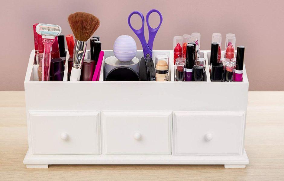 5 organizadores de maquillaje y cosméticos para tener todos tus productos en un mismo lugar