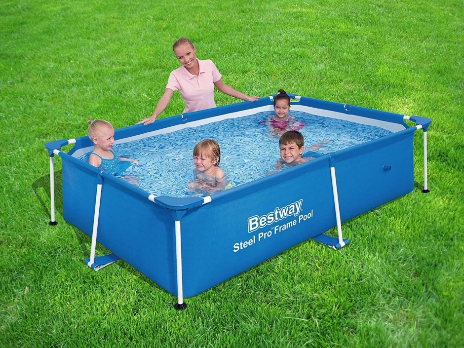 6 piscinas elevadas fáciles de montar que puedes tener en tu patio