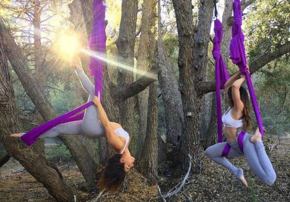 Las 6 mejores hamacas de yoga para hacer ejercicios aéreos