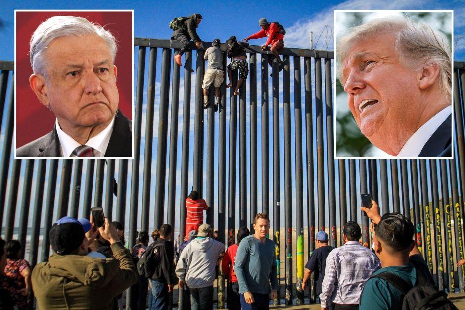 Trump y AMLO logran reducir la inmigración de indocumentados