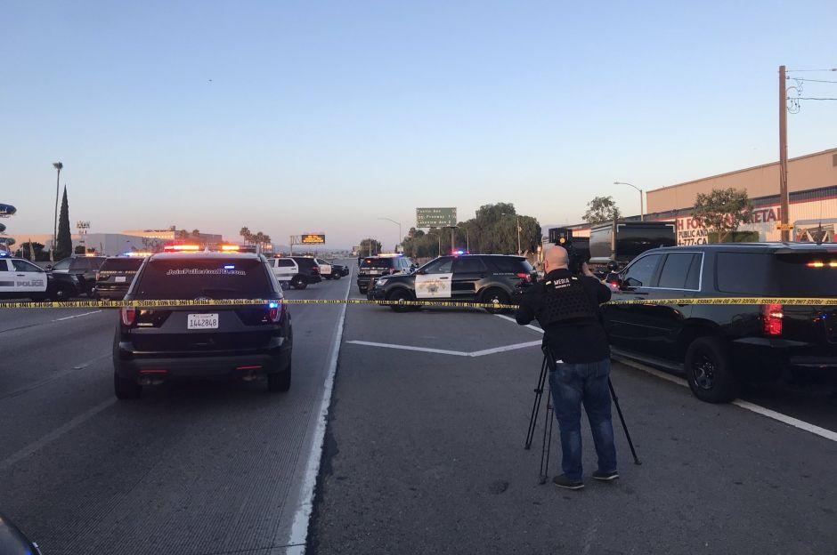 Policía revela video del tiroteo en autopista 91 en el cual murió una menor de Anaheim