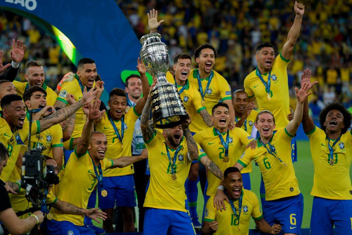 Brasil, Campeón de la Copa América