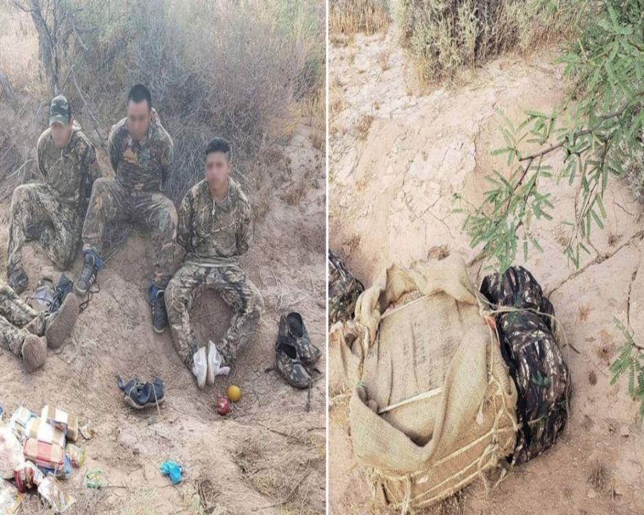 """Caen 5 """"burros"""" con metanfetaminas y marihuana a unas millas de Arizona"""