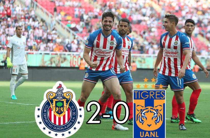 Chivas le pega al campeón