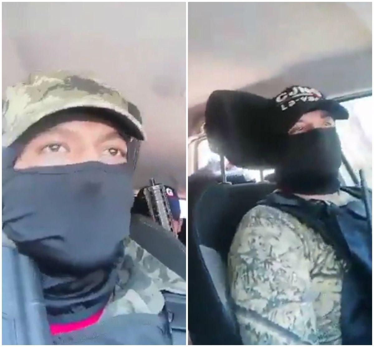 VIDEO: Captan cómo sicarios del CJNG lanzan granadas a policías