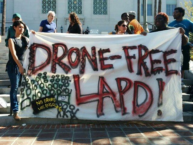 Comisión de Policía da luz verde para el uso de drones