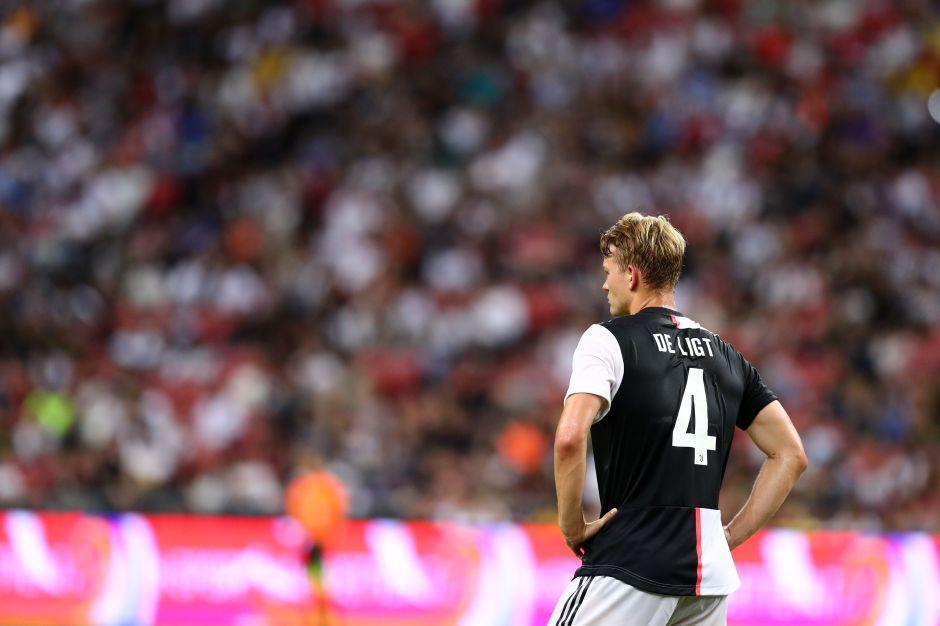 De Ligt se estrena en la Juventus con gol… en propia puerta