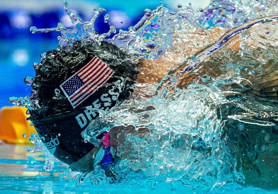 Gwangju 2019: Dressel no pudo romper el récord de Phelps