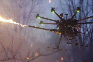 VIDEO: Lanzan al mercado un lanzallamas para dron