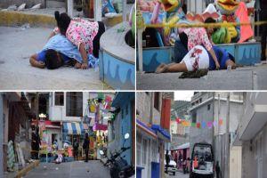 Feria del terror, sicarios matan a vendedora de elotes y una niña de 3 años