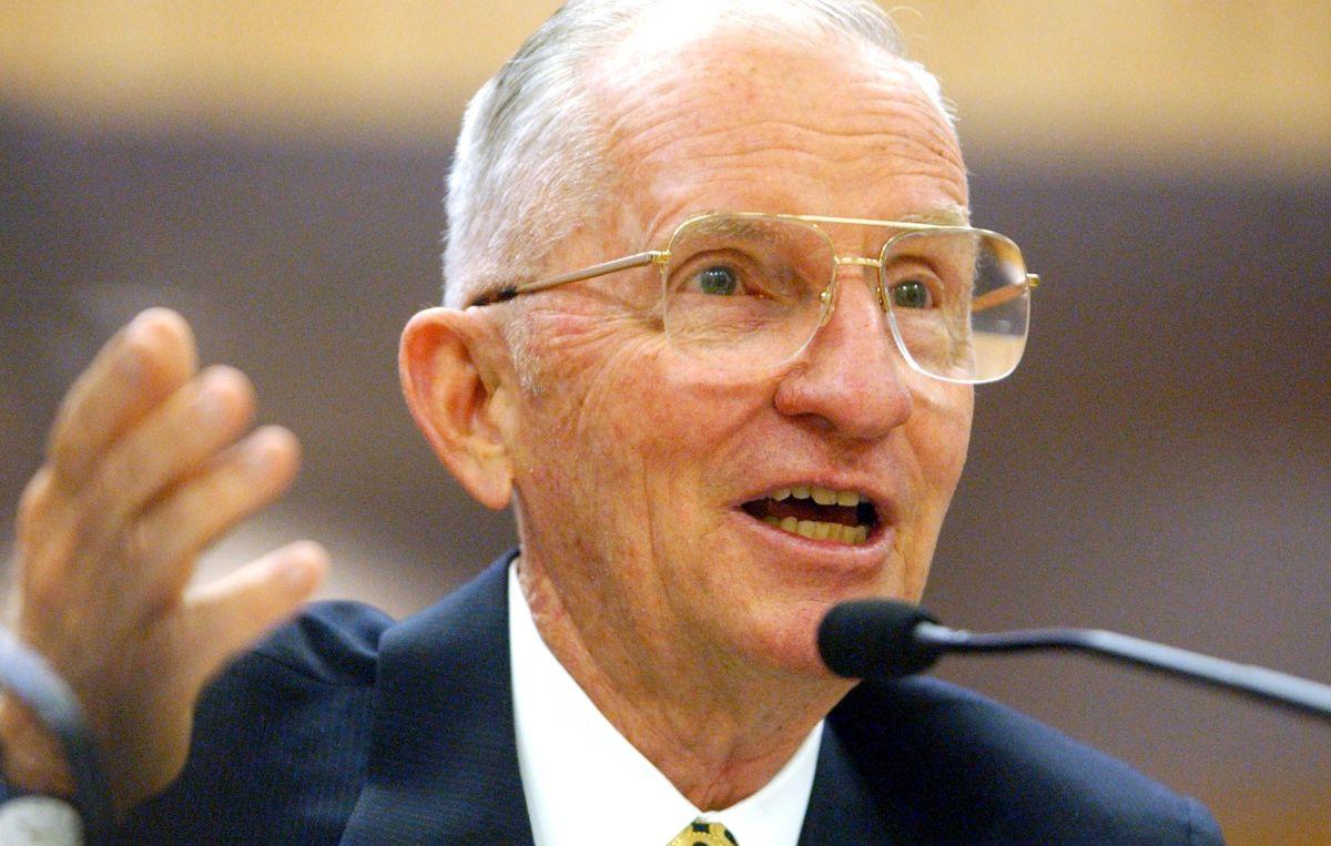 Ross Perot fue candidato presidencial en dos ocasiones.