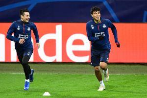 Chucky Lozano ya entrena con el PSV