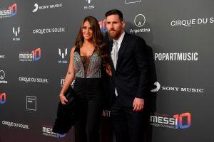 """Messi se desestresa en """"El Paraíso"""" en familia"""