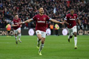 """""""Chicharito"""" está en el Top 5 de goleadores del West Ham de esta década"""