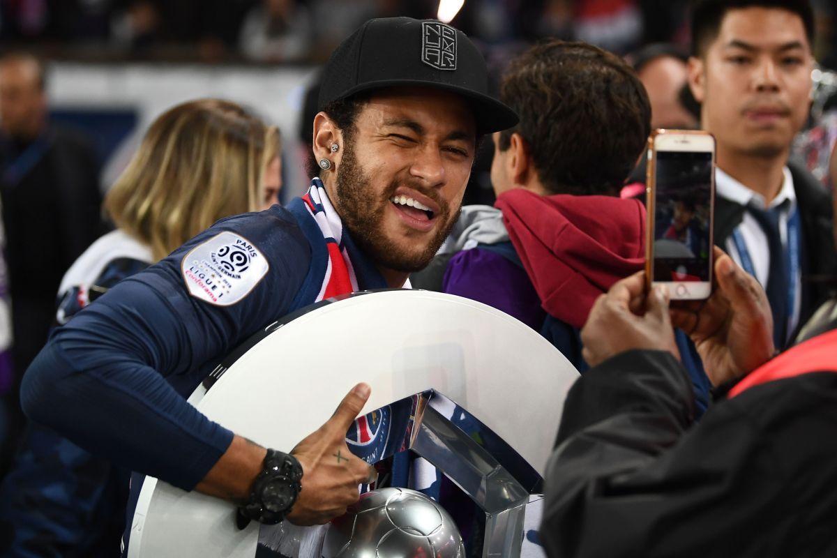La Increíble reacción de Neymar tras la remontada de Flamengo en la Libertadores