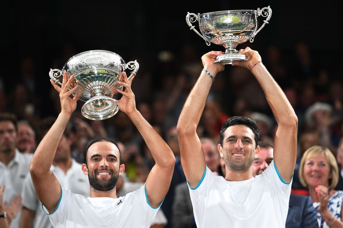 La dupla colombiana que hizo historia ganando Wimbledon por primera vez.