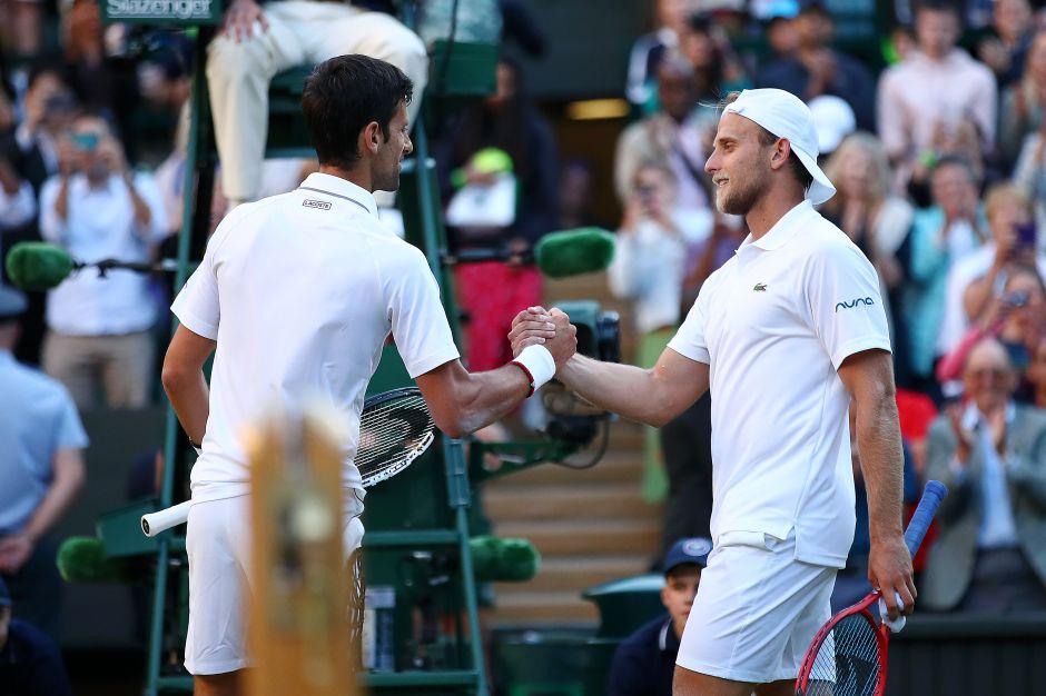Nocak Djokovic vs Denis Kudla en Wimbledon