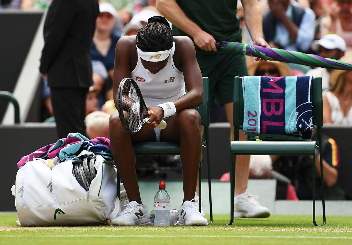 Se acabó el sueño para Gauff, la joven de 15 años es eliminada de Wimbledon