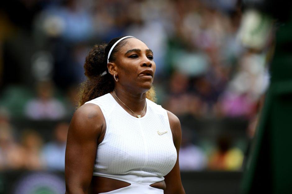Serena Williams destapó todo su trasero para una famosa revista