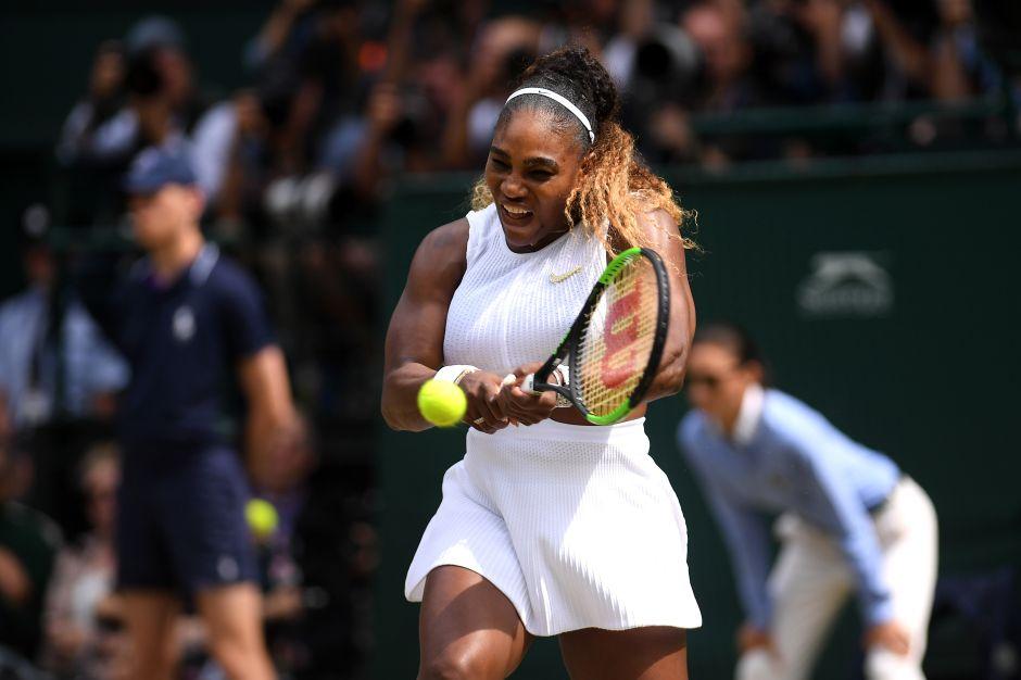 Serena Williams vence a 5 hombres al mismo tiempo