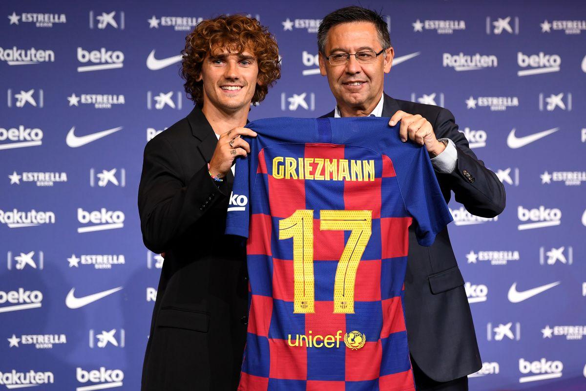 """Griezmann vestirá el dorsal """"17"""" en su etapa blaugrana."""