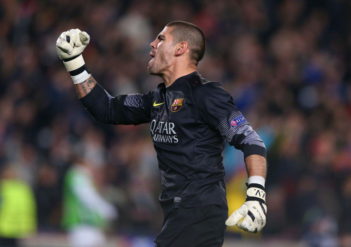 Valdés firmó este viernes un contrato que lo vincula con las fuerzas inferiores del conjunto catalán
