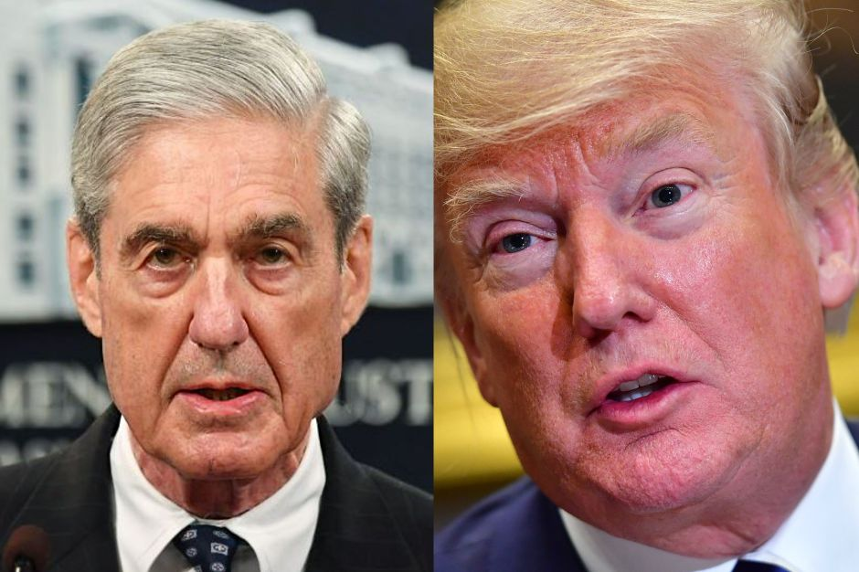 "Trump celebra a pesar que Mueller dijo que ""NO"" fue exonerado"