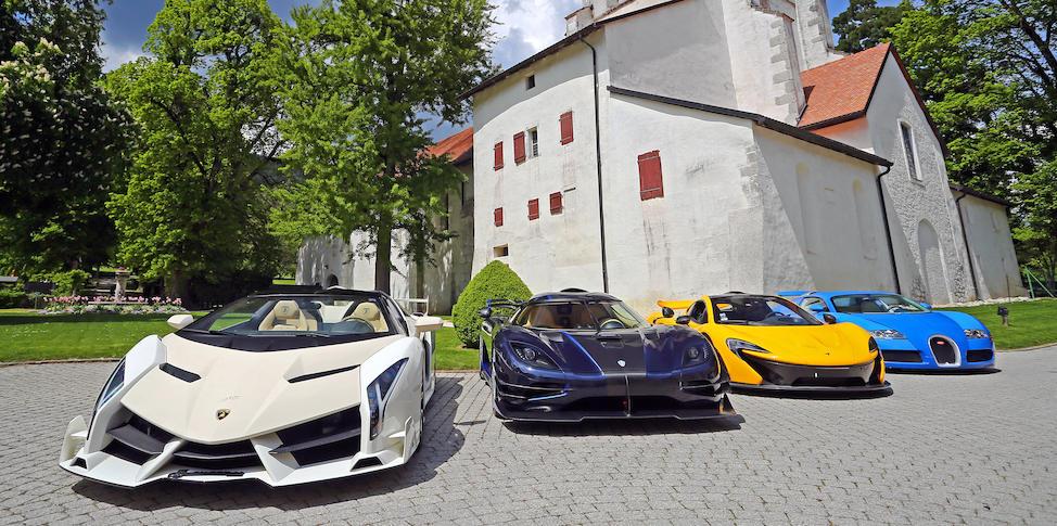 Aston Martin, Bentley, Bugatti, Ferrari, Koenigsegg, Lamborghini, Maserati, Mercedes-Maybach y Porsche: estos son los supuestos autos que el vicepresidente de un país africano guardaba en Suiza